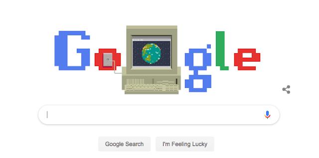 World Wide Web इंटरनेट का जन्मदिन गूगल ने दिया तोहफा