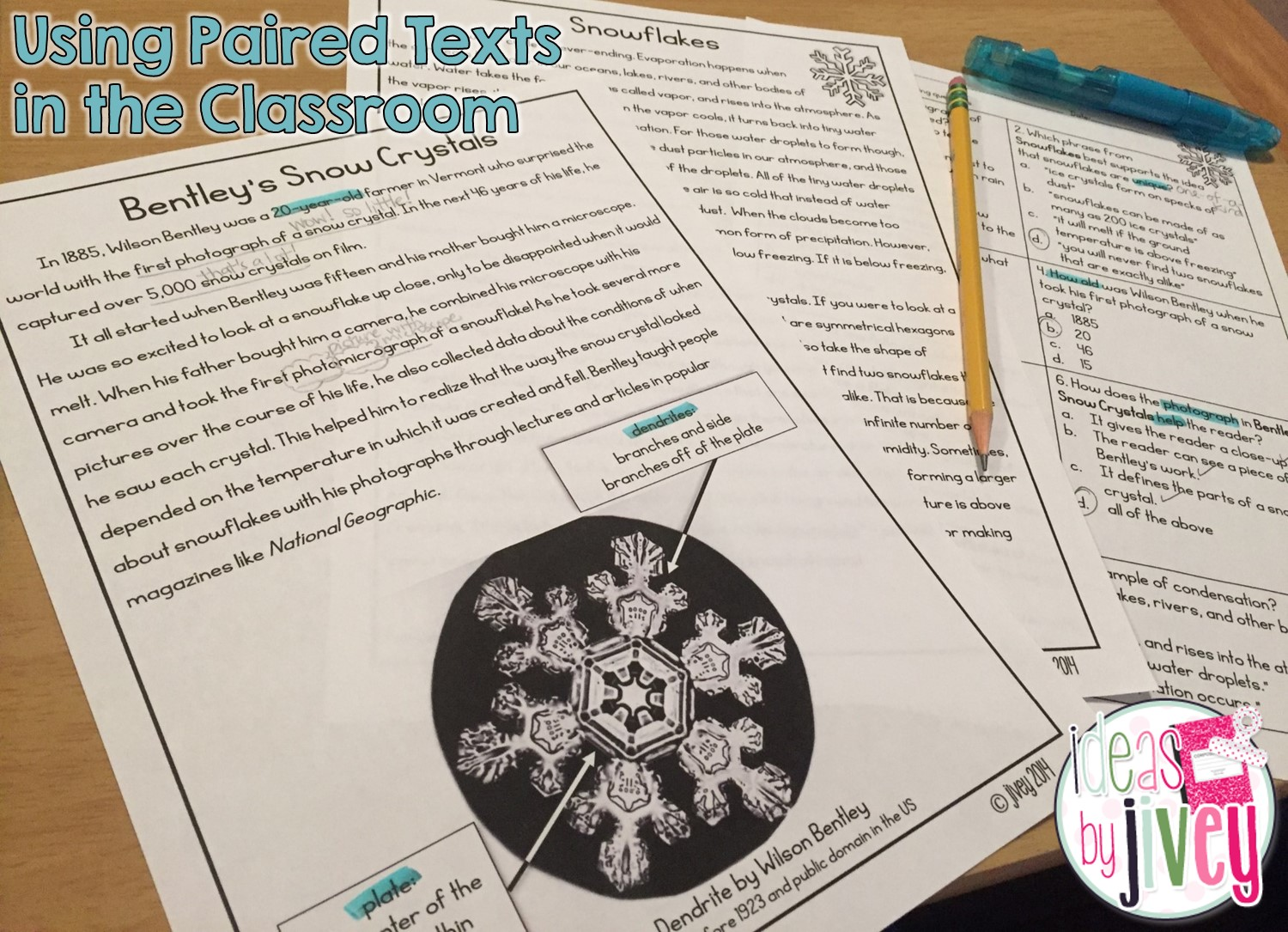 Paired Texts : Rigor Doesn't Mean Torture! | Ideas by Jivey