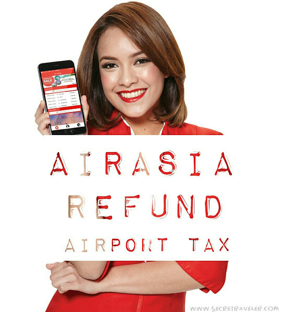Airasia refund airport tax