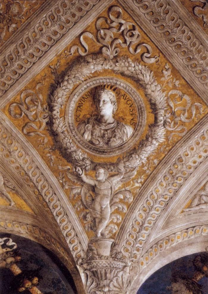 Historyczno sztucznie 24 andrea mantegna for Mantegna camera degli sposi palazzo ducale
