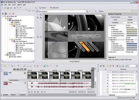 Sony DVD Architect Pro v5.2.132 Full
