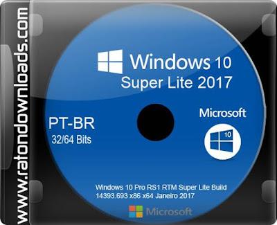 windows 10 lite x86 2017