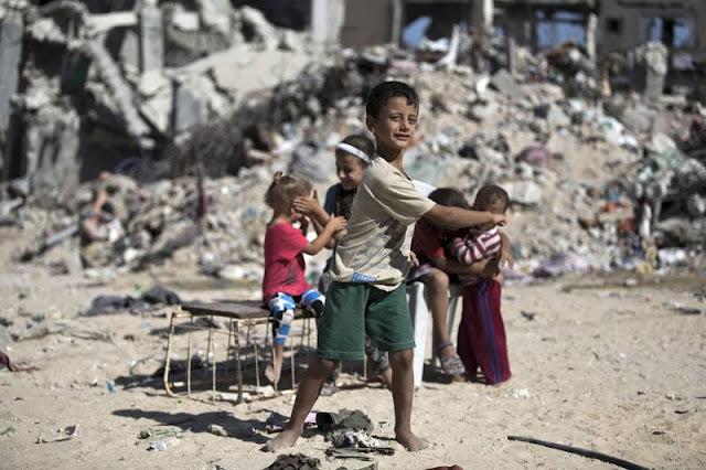 GAZA, HUNDIDA Y SIN ESPERANZA