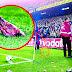 8 objetos extraños que fueron lanzados en una cancha de fútbol