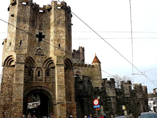 Castillo de los Condes de Gante - excursión desde Bruselas