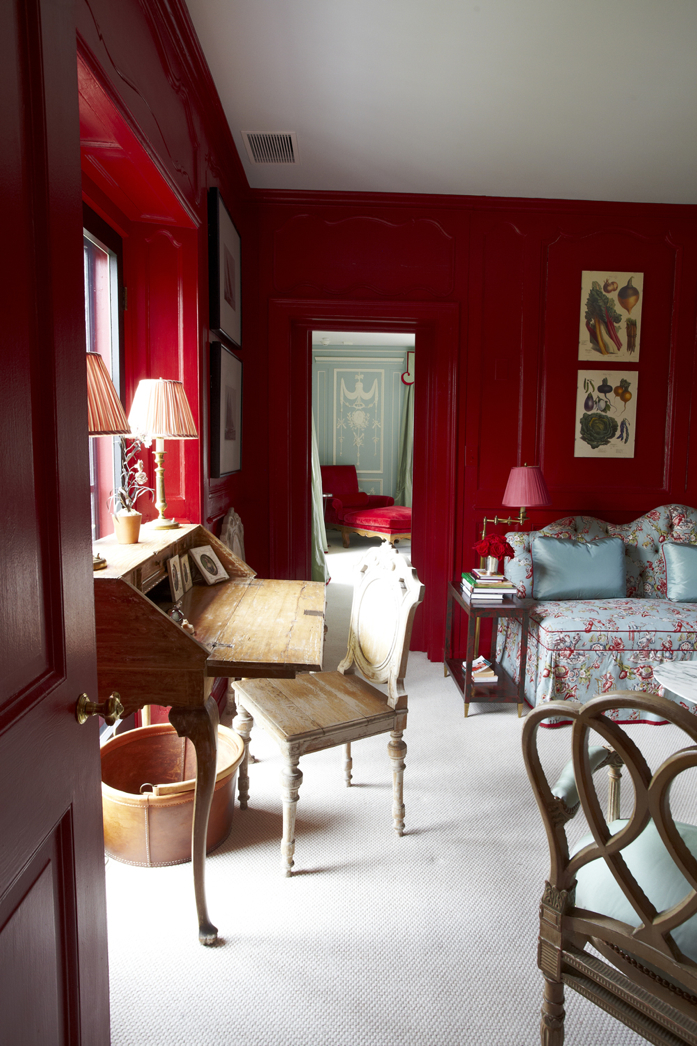 Benjamin Moore Color of the Year 2018: Caliente AF-290-interiordesign-MilesRedd-via designaddictmom