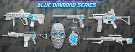 Seri Blue Diamond PB Garena Indonesia