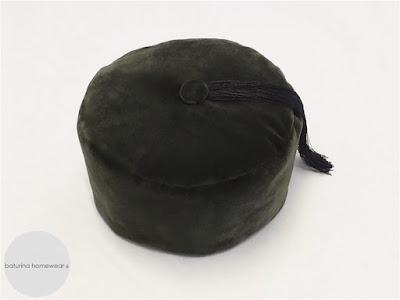 mens english velvet smoking cap edwardian victorian era smoker hat vintage style traditional