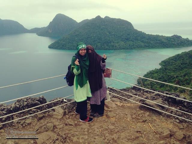 Hiking Bukit Pulau Bohey Dulang Semporna