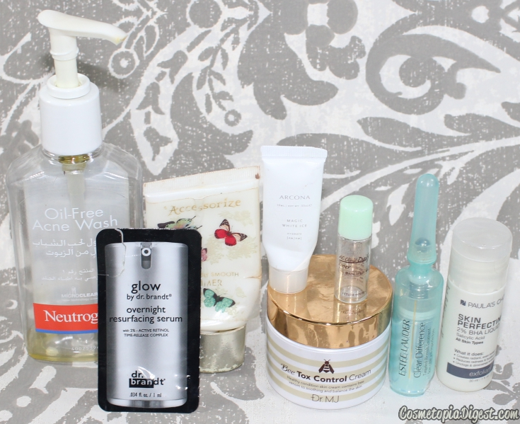 Here are the beauty products I used up in December 2015 and my thoughts on each, and a link-up.