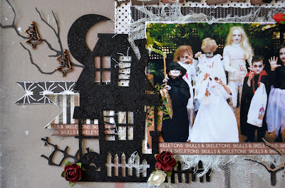 halloween scrapbooking layouts