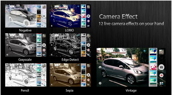 Camera Zenfone Go 5.0 ZC500TG memiliki banyak mode