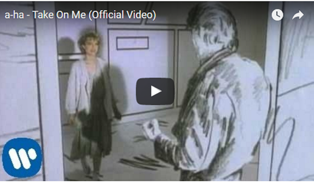 imagen a-ha - Take On Me (Official Video)