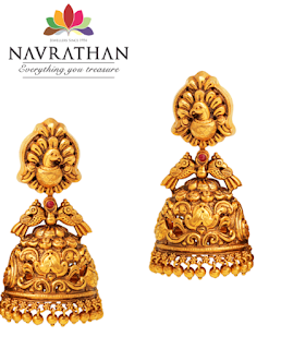 Navrathan Jhumka's inspired By Royalty and Spirituality