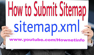 How To Submit blogger sitemap to Google search consol