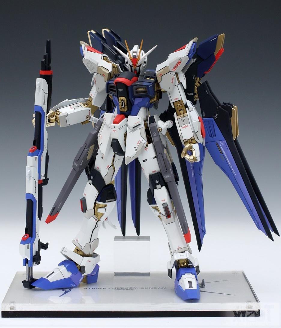 GUNDAM GUY: MG 1/100 XGMF-X20A Strike Freedom Gundam ...