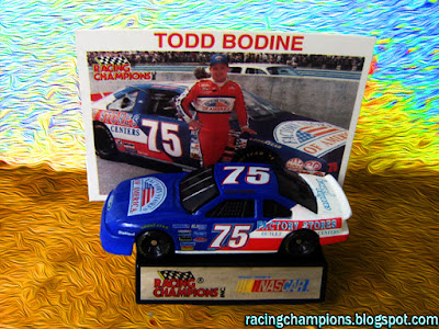 Todd Bodine #75 Carolina Pottery Racing Champions 1/64 NASCAR diecast blog America Winston Cup Dick Trickle