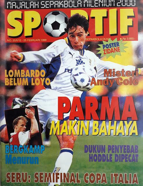MAJALAH SPORTIF: PARMA MAKIN BAHAYA