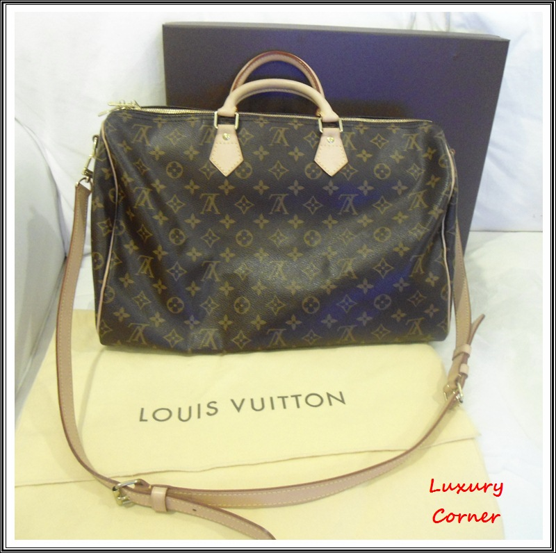 Louis Vuitton Speedy 40 Strap Confederated Tribes Of The