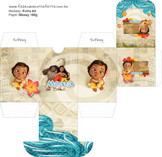 Moana Baby Free Printable Box.