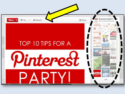 pinterest NEW Pin - comes with some new benefits - find out what these are here!!