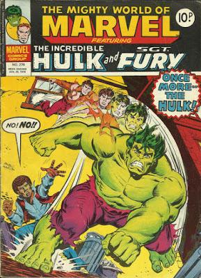 Mighty World of Marvel #278, the Hulk