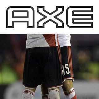 Axe, sponsor, River, River Plate, 2018