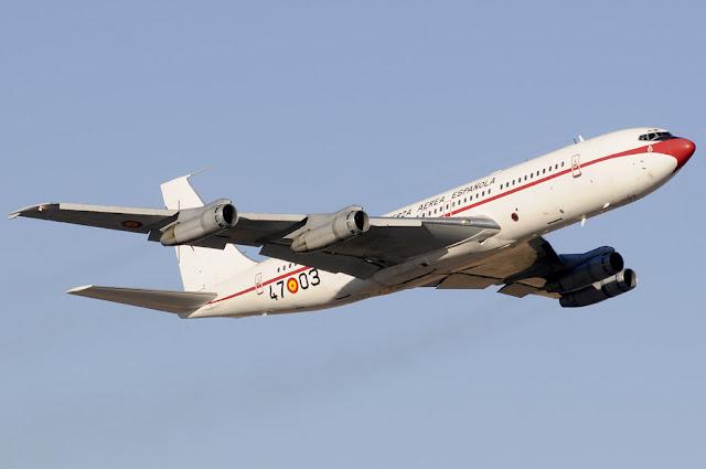 El B-707 (T.17) del Ejército del Aire finalizará su vida operativa en octubre