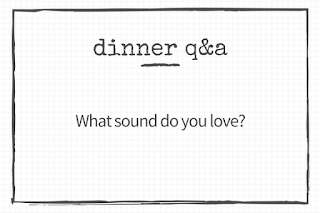 30 questions to ask your kid: What sound do you love?