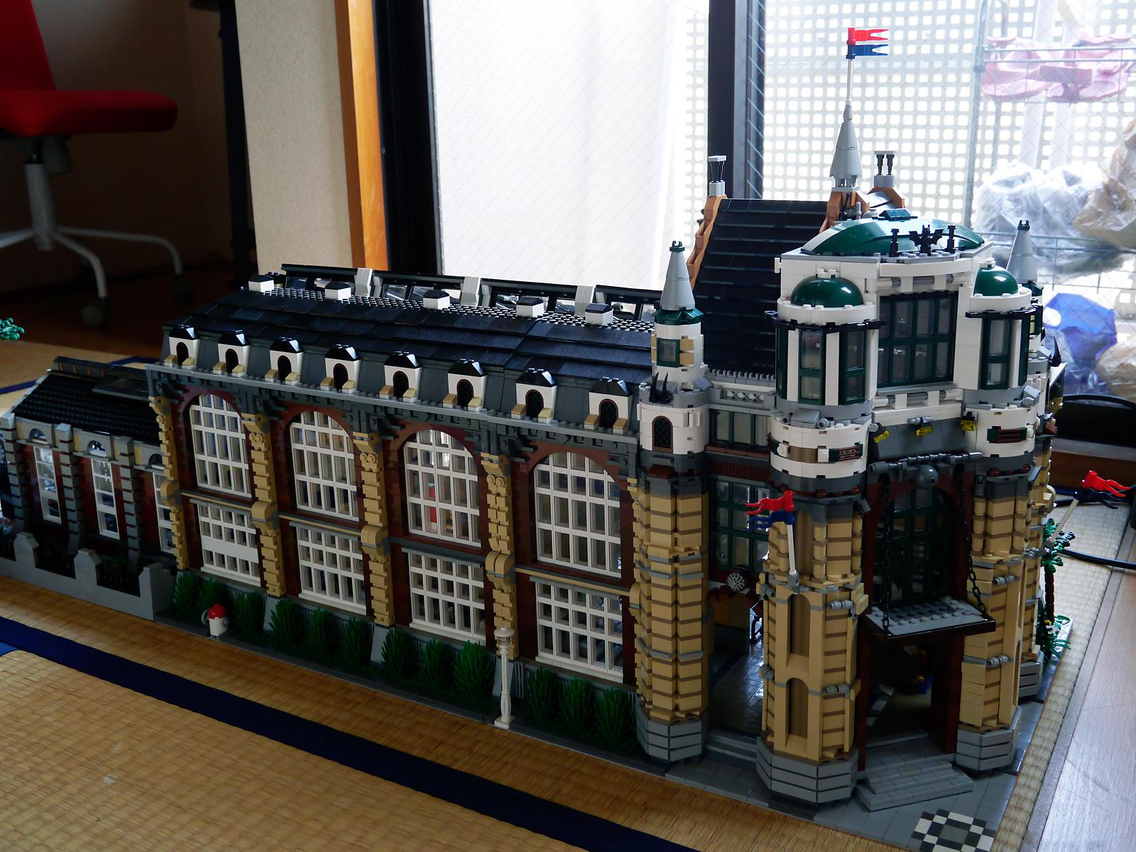 LEGO Train Station Instructions 7997, City | Building Lego City