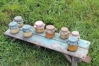 Honey Jars, Living From Glory To Glory Blog...