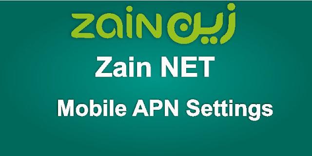 Mobile APN Settings for Zain NET KSA
