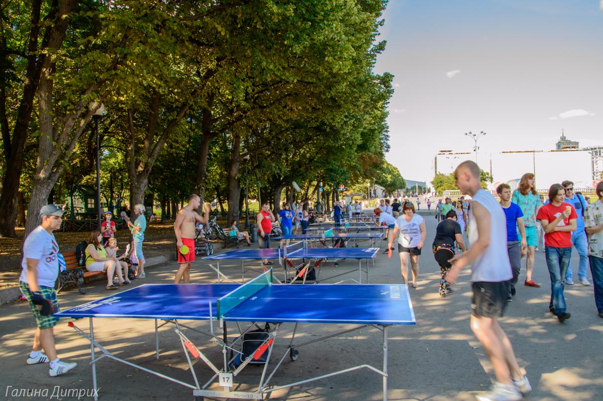 Парк Горького Теннис фото
