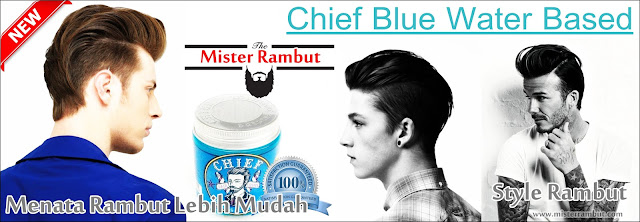 Chief Blue Water Based Pomade