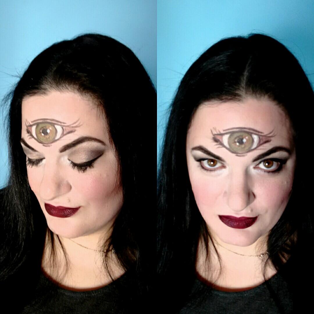 Third eye makeup