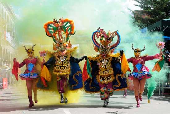 Oruro presentara mini carnaval para visitantes y competidores del Rally Dakar 2017