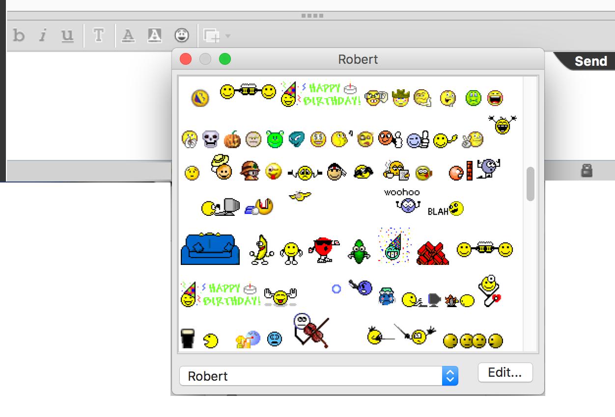 Lotus Notes Emoticons Roberts Techworld Ibm Sametime Emoticons Free Of Charge