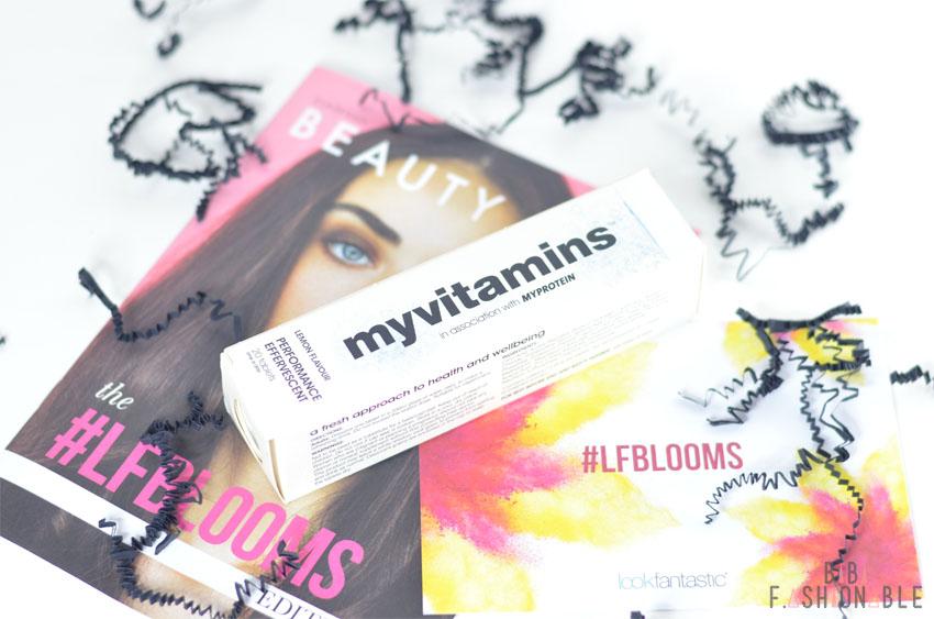 Unboxing Lookfantastic #LFBLOOMS Box myvitamins