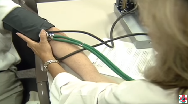Blood pressure when pregnant