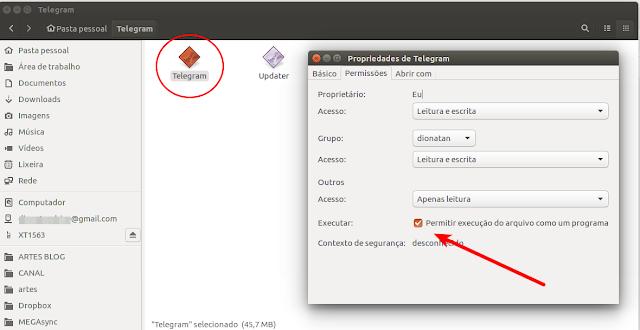 Como instalar o Telegram no Linux