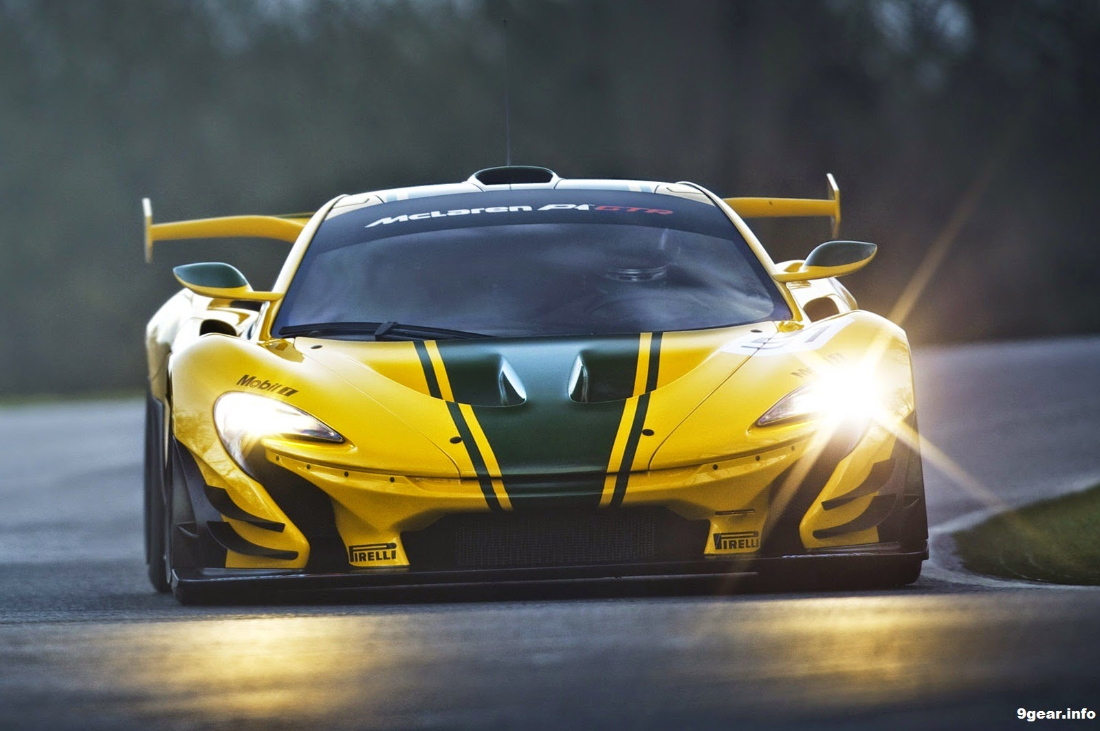 12fe50277087fc 2015 McLaren P1 GTR revealed - 1000PS