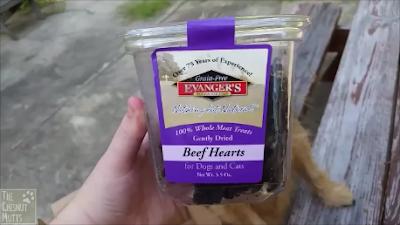 Evanger's beef heart treats