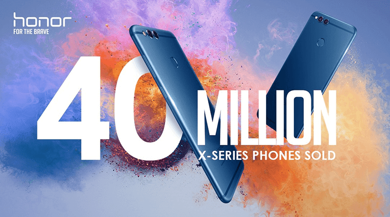 Huawei Honor X series sold more than 40 million units worldwide