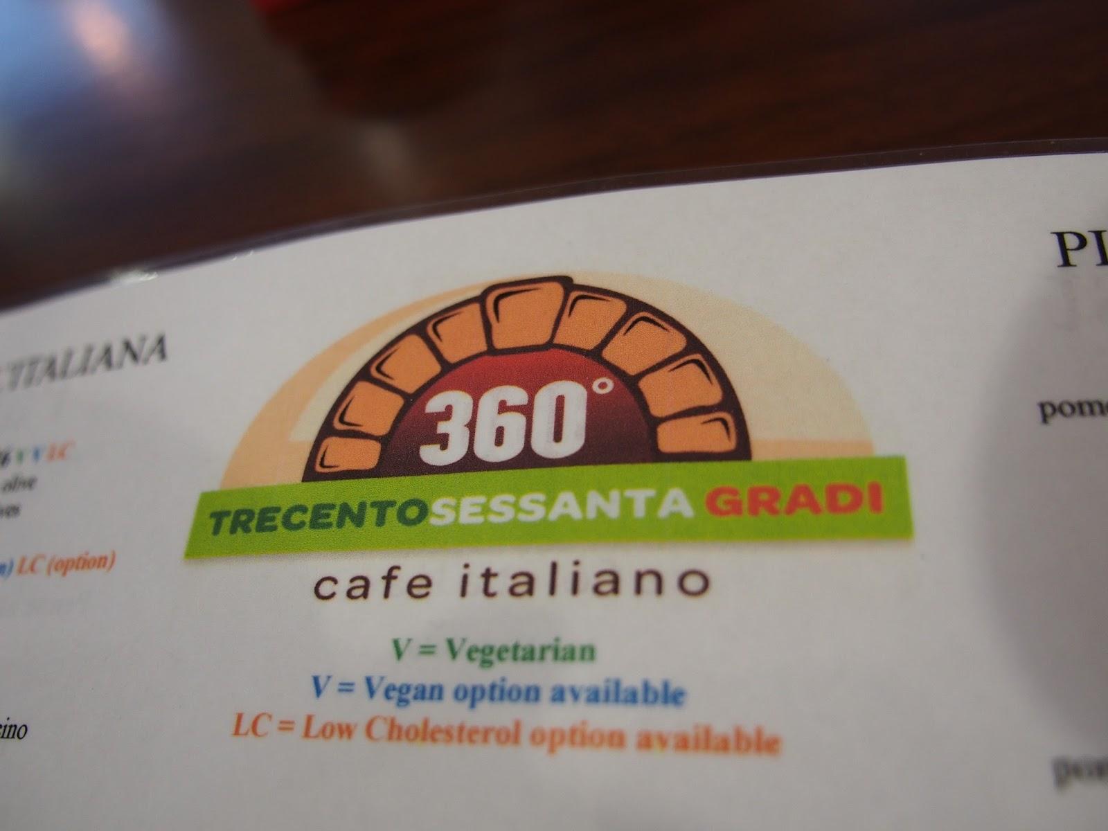 Adelaide, 360 Gradi, Pizza, Pasta