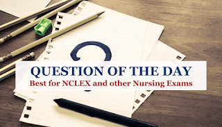 Question Of The Day, The Nursing Process, Nurse