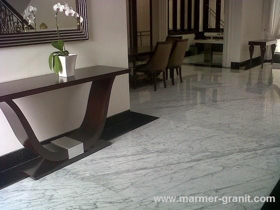 Lantai Marmer Putih Statuario Marble Marble Granite
