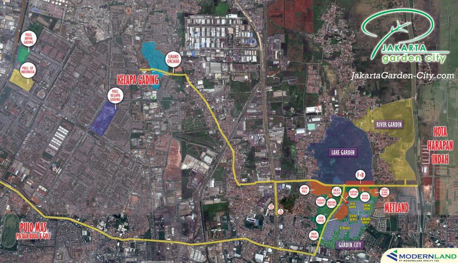 Peta Lokasi JGC