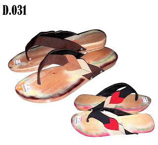Sandal Kelom Teplek , Sandal Flat