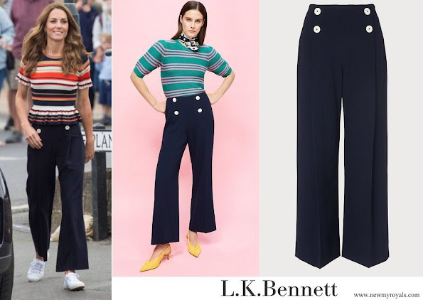 Kate Middleton wore L.K Bennett Parker Trouser