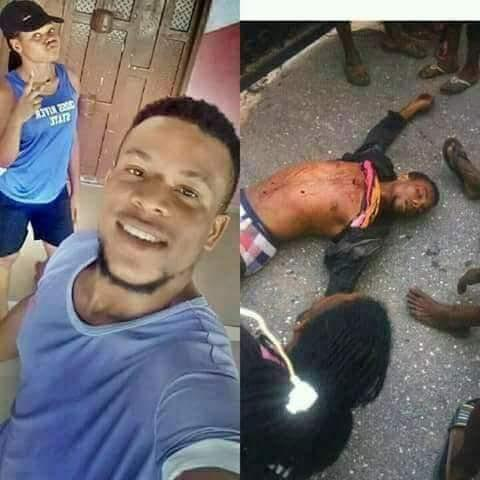 Young Man Killed, Scores Injured as Rival Cult Groups Vikings & Black Axe Clash in Cross River (Photo)